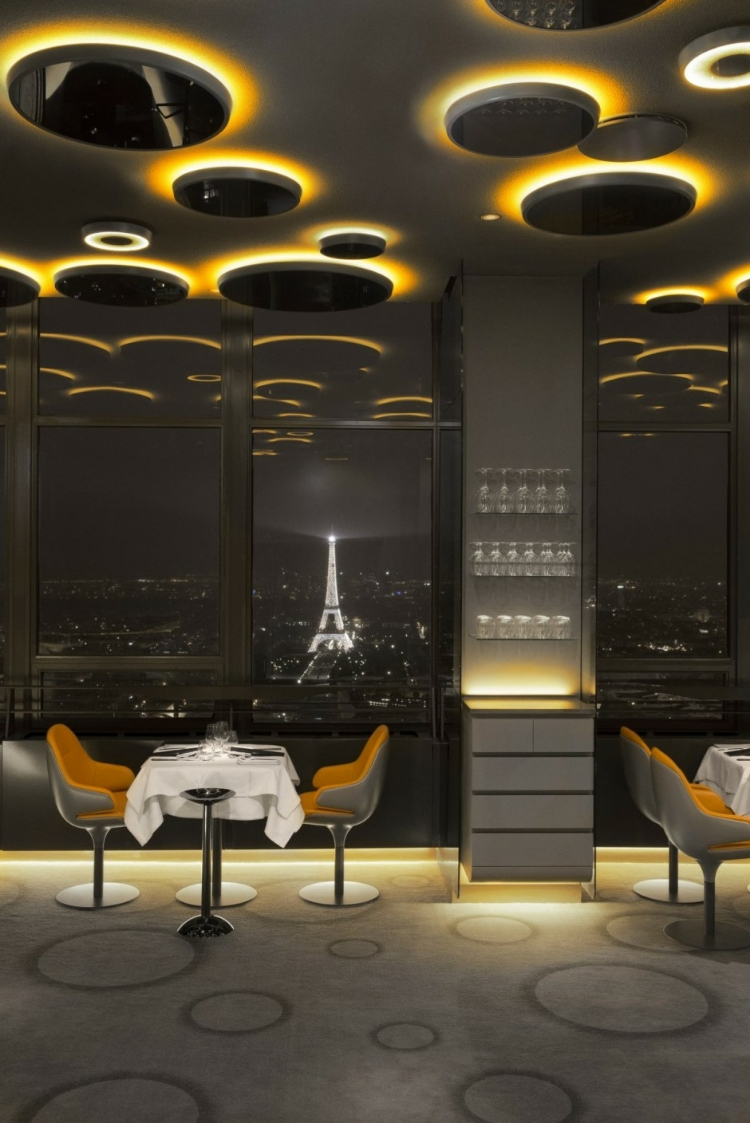 design d int rieur l incroyable restaurant ciel de paris we com 39 in le blog des. Black Bedroom Furniture Sets. Home Design Ideas