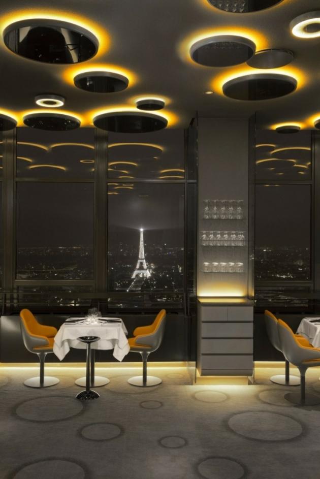 Design d int rieur l incroyable restaurant ciel de paris we com 39 in - Restaurant ciel de paris montparnasse ...
