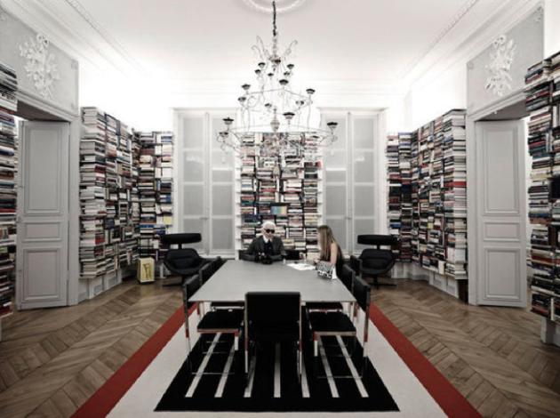 Home design l appartement de karl lagerfeld we com 39 in le blog des tudiants en communication - Linge de maison karl lagerfeld ...