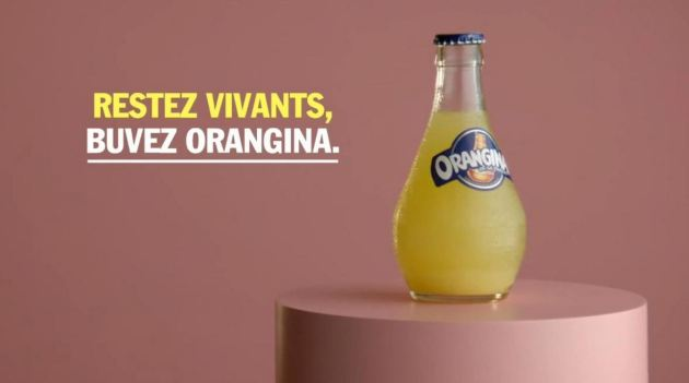 Orangina spot tv signature