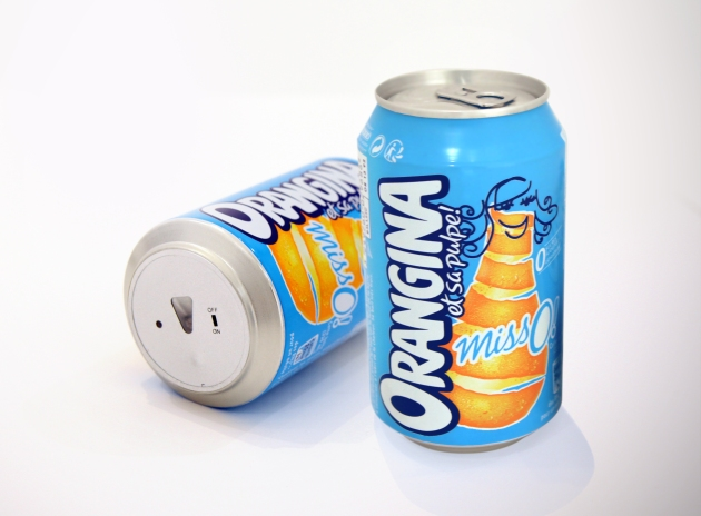 ORANGINA MISSO ! — CANETTE ANTIFOOT - PHOTO
